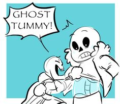 Untitled — Does sans ever blush? If he did I bet it'd be...