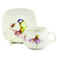 scenes from nature cup & saucer set