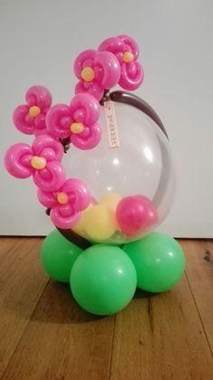 Ballonfeestje Orchidee Clown Balloons, Bubble Balloons, Birthday Balloons, Love Balloon, Balloon Flowers, Balloon Bouquet, Ballon Decorations, Balloon Centerpieces, Balloon Crafts