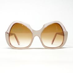 70s Oversized French Sunglasses | Butterfly shape | Gradient Lenses | NOS condition | Pink Sunglasses | Vintage Sunglasses - pinned by pin4etsy.com