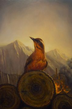 """Fire Walk With Me"" by Martin Wittfooth"