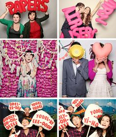 Party props for your smilebooth