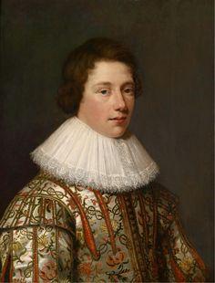 1627 Jan Anthonisz van Ravesteyn - Portrait of a Noble Youth