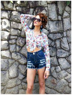 Elegância no Verão - Como vestir-se bem em dias de calor short cintura alta