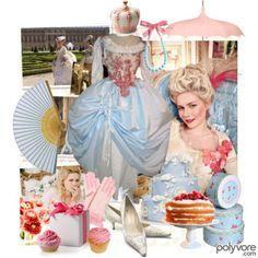Vision Board: Modern Day Marie Antoinette