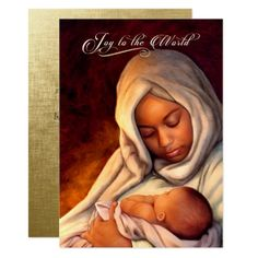 African American Nativity Art Tri-Fold Holiday Card created by marazdesign. Personalize it with photos & text or purchase as is! Christmas Greetings Christian, Religious Christmas Cards, Christmas Images, Kids Christmas, Merry Christmas, African Christmas, Black Christmas, Christmas Things, Christmas Quotes