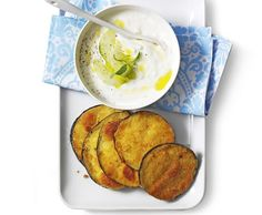 Vinete pane cu tzatziki - my meal for the day