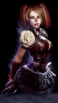 Batman Arkham Knight- Harley Quinn by JPGraphic