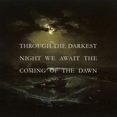 is Radio, rediscovered - the darkest night before dawn () by captaincadwaller Stars Craft, Social Activities, Dark Night, Dawn, The Darkest, Best Quotes, Tattoo Ideas, Wisdom, Faith