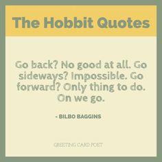The Hobbit Quotes From J.R.R. Tolkien