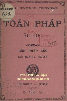 Toán Pháp Ấu Học (NXB Qui Nhơn 1925) - Nhiều Tác Giả, 76 Trang | Sách Việt Nam Qui Nhon, Movie Posters, Film Poster, Billboard, Film Posters