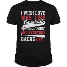 I WISH LOVE WAS LIKE BASEBALL