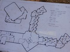 the layout of the building