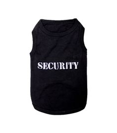 Is your dog the type of dog that doesn't look enthused when there is loud music playing and good times being had by all? Does he keep a stern look, despite everyone having a good time? Then this Security Dog Shirt is perfect for him! Keep the riff raff at bay and have him make sure nothing gets out of hand during your next get together or concert! $9.99 http://www.petcostumecenter.com/home/311-security-dog-shirt-.html #dog #security #costume