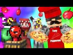 Minecraft Mini-Game : DO NOT LAUGH! (TONY PEPPERONI RETURNS, THE APPLE!) w/ Facecam - YouTube