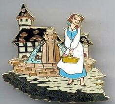 Disney Pin Dreaming of A Great Wide Somewhere Event Belle Beauty and The Beast | eBay