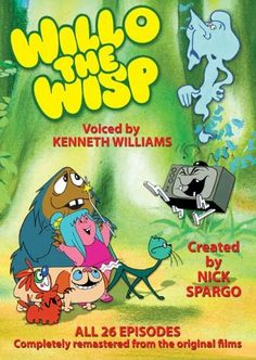 Willo the Wisp with Mavis Cruet and Evil Edna with the late great Kenneth Williams voicing all the characters. Retro Kids, 80s Kids, Kids Tv, 1980s Childhood, My Childhood Memories, Nostalgia, Kenneth Williams, 80s And 90s Cartoons, Classic Cartoons