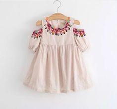Daisy Petals Boutique — Off shoulder Julia dress in beige