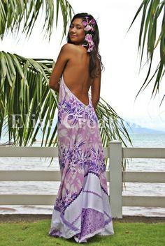 Samoan Women, Polynesian Girls, Tropical Vacation Outfits, Tahitian Costumes, Hawaiian Woman, Island Wear, Hula Dancers, Purple Outfits, Local Girls