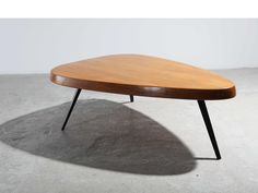 Free shape low table, ca. 1953 | Charlotte Perriand | Galerie Patrick Seguin | 20th Century Furniture & Architecture