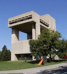 I.M. Pei, Architect - Herbert F. Johnson Museum of Art at Cornell University  | Photo © Jackie Craven...