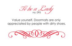 To Be A Lady : Photo