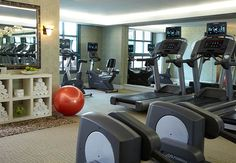 Stay in shape in our well-equipped fitness center.