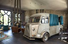 Amazing interior with a quirky sense of humor :)