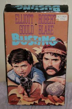 Busting (VHS, 1990) Elliott Gould Robert Blake #EN02