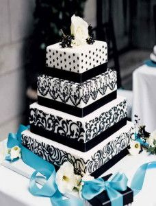 Best Square Wedding Cakes