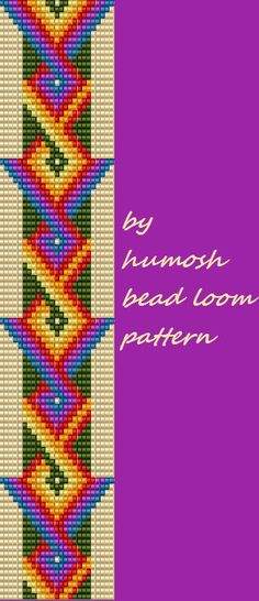 bead loom pattern71 by Humosh on Etsy