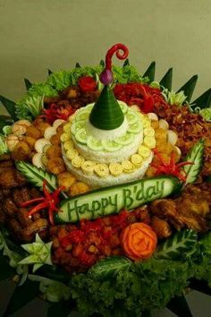 153 Best Nasi Tumpeng Images Indonesian Food Food Food And Drink