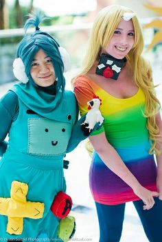 Lady Rainicorn and Bemo Cosplay - Found a way to solve the speaking English thing: just get the voice translator
