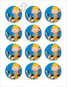 Bob the Builder Cupcake Images - Click Image to Close