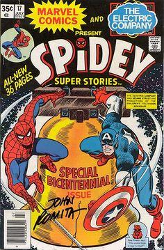 Spidey Super Stories Bicentennial Comic