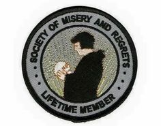 Society of misery and regret patch                                                                                                                                                                                 More
