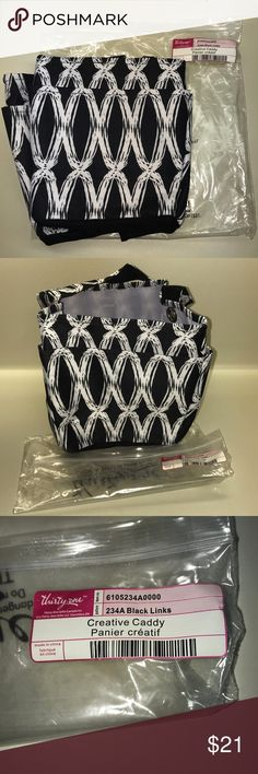 🆕 Thirty-One Creative Caddy in Black Links