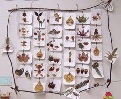 Beaucoup d'imagination et une foule de personnages réalisés avec des feuilles