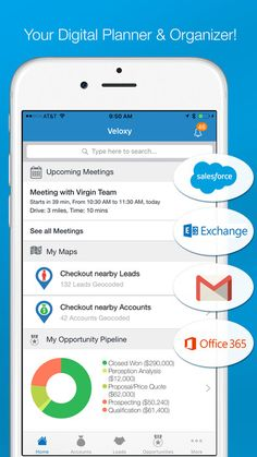 Veloxy is a Predictive Sales Enablement App and Platform. Everything relevant (Salesforce, Emails, Calendars, Geo Locations, Leads, Contacts, Accounts, Tasks, Phone & Social) is in one place, instantly searchable, available at your finger tip. Salesforce update is a breeze.  https://itunes.apple.com/us/app/veloxy/id956431895   #US #USA #America #NewYork #California #Chicago #Texas #Florida #Houston #Washington #Bostonb #CRM #App #SalesForce #CRMForSmallBusiness #SalesForceEffectiveness