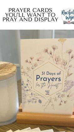 Prayer Box, Prayer Cards, Jesus More, Good Lord, Bible Verse Wallpaper, Spiritual Growth, Prayers, Place Card Holders, Prayer
