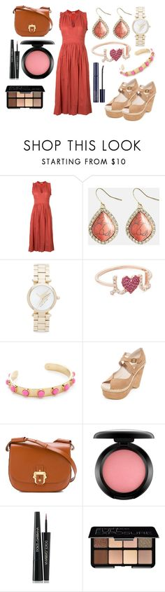 """Summer Styles"" by hillarymaguire ❤ liked on Polyvore featuring Ulla Johnson, Avenue, Marc Jacobs, Sydney Evan, Kate Spade, Free People, Paula Cademartori, MAC Cosmetics, Dolce&Gabbana and Smashbox"