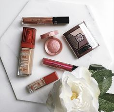 Bourjois Flatlay marble beauty blog WHAT EVA WEARS review and tutorial