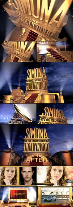 show packaging - Simona goes to Hollywood