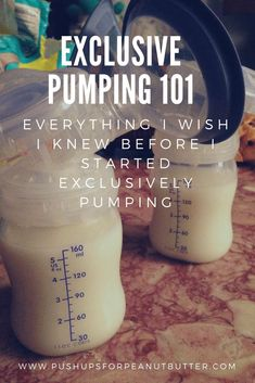 Exclusively Pumping 101