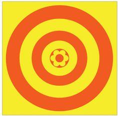 Le logo cible du prisunic. Prisunic @ VIA - La MJC