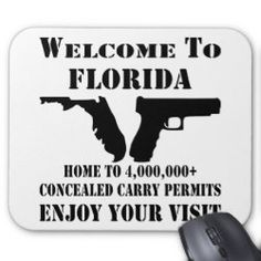 Welcome To Florida Home To 4,000,000  CCW Permits