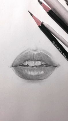 Drawing of lips by Nadia Coolrista This is a time lapse. - Drawing of lips by Nadia Coolrista This is a time lapse video of drawing in progress. It took me 45 minutes to draw. Art Drawings Sketches Simple, Pencil Art Drawings, Realistic Drawings, Beautiful Drawings, Drawing Lips, Drawings Of Lips, Drawing Ideas, Beautiful Pictures, Drawing Hair