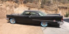This 1957 Chrysler 300C has been released from storage after 30 years. It's said to run well and original except that the color has been changed. #300C, #Chrysler