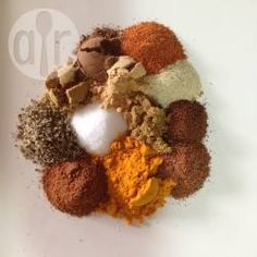In Morocco, this is known as Ras-el-hanout. Different regions will have their own versions but nevertheless, it's a great seasoning for chicken or lamb tagines. Moroccan Spice Blend, Moroccan Spices, Cooking Pork Chops, Cooking A Roast, Seasoning Mixes, Chicken Seasoning, Spice Blends, Spice Mixes, Ras El Hanout Recipe