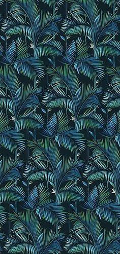 Tropical wallpaper BRASILIA Contemporary Wallpaper 2016 Collection By Wall&decò design Lorenzo De Grandis Wallpaper 2016, Wall Wallpaper, Pattern Wallpaper, Wallpaper Jungle, Post Contemporary, Contemporary Wallpaper, Fleur Design, Design Design, Pattern Design